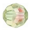 Swarovski Bead 5000 Round 8mm Luminous Green Crystal